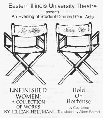 An Evening of Student Directed One Acts: Hold On Hortense (2001)