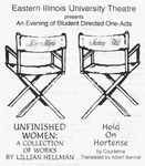 An Evening of Student Directed One Acts: Hold On Hortense (2001) by Theatre Arts