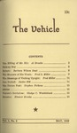 The Vehicle, May 1959, Vol. 1 no. 2 by Al Brooks, Barbara Wilson Daut, Fred L. Miller, Janice Hill, Stephen Pickens, Gladys C. Winkleblack, and Eleanor Brooks