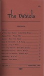 The Vehicle, February 1960, Vol. 2 no. 1 by Robert Mills French, Wayne Baker, Major Dan Ragain, J. B. Young, Jerry N. White, Mary Ellen Mockbee, Thomas McPeak, Richard W. Blair, and Sam Martin
