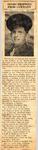 Sends Trophies from Germany (PFC Gilbert Harris, SGT Freeman Vaughn) 4-12-1945