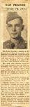 Nazi Prisoner (PFC Eldon Dewhirst) 4-19-1945