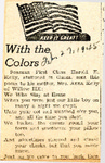 With the Colors 2-27-1945