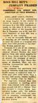 Rose Hill Boy's Company Praised (CPL Rex E. Carpenter) 1-11-1945