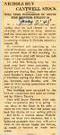 Nichols Buy Cantwell Stock 6-7-1945
