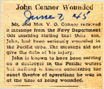 John Connor Wounded 6-7-1945