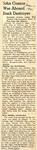 John Connor Was Aboard Sunk Destroyer 6-15-1945