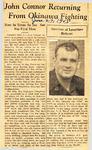 John Connor Returning From Okinawa Fighting 6-27-1945