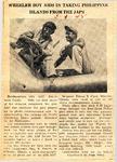 Wheeler Boy Aids in Taking Philippine Islands from the Japs (SGT Edison Clark) 3-9-1945