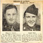 Killed In Action (Edgar E. Andrews & Donald Short) 3-20-1945