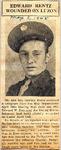 Edward Rentz Wounded on Luzon 5-3-1945