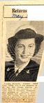 Returns to Duty (Louella Kincade) 5-3-1945