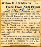 Willow Hill Soldier Is Freed From Nazi Prison (Ernest Eubanks) 5-17-1945