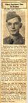 Eldon Dewhirst Dies In France 5-17-1945