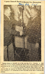 Captain Romack Receives Bronze Star Decoration 11-22-1945 by Newton Illinois Public Library
