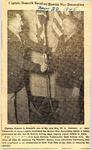 Captain Romack Receives Bronze Star Decoration 11-22-1945