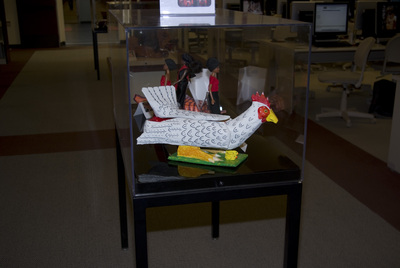 A Rooster Coffin