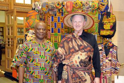 Librarians Johnson Kuma & Robert Hillman