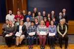 A Group Photo of Recipients of the 2015 Years of Service Award with 25 Years and More by Beverly J. Cruse