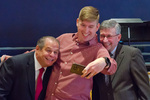Aaron Allison - Selfie with Dr. Glassman and Paul McCann by Beverly Cruse