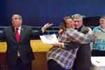 Amanda Harmon - No hug for the President?