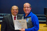 Brad Green, 15 years of service by Beverly Cruse