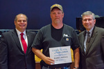 Bradley McElravy, 10 years of service by Beverly Cruse