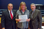 Cathy Johnson, 30 years of service by Beverly Cruse