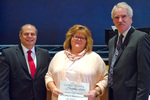Cathy Schoonover, 10 years of service by Beverly Cruse