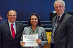 Christina Yousaf, 15 years of service by Beverly Cruse