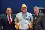 Johnny Morton, 20 years of service