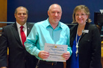 Michael Croslow, 10 years of service by Beverly Cruse